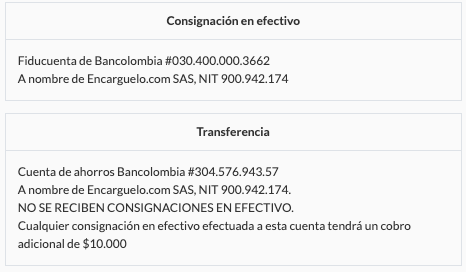 consignaciones bancolombia
