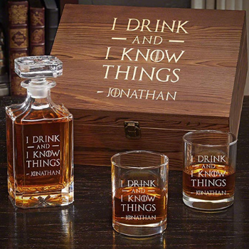 whiskey set de Games of Thrones