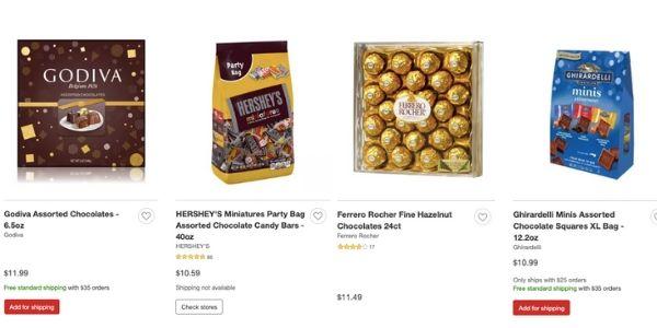 chocolates target.com