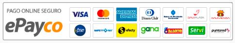 tipos de pago en epayco para compras en linea