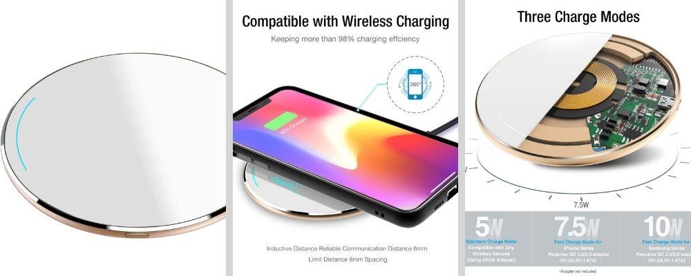 cargador inalámbrico smartphones
