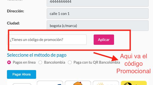 codigo promocional shein colombia